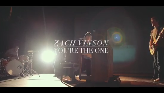 zach vinson - you're the one video